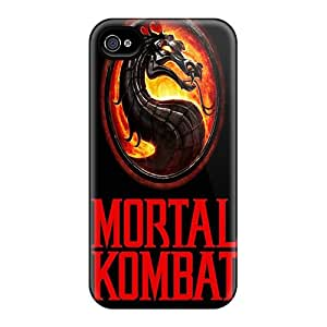 Perfect Mortal Kombat Case Cover Skin For Iphone 4/4s Phone Case
