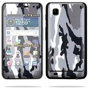 Cerhinu Protective Skin Decal Cover for Samsung Galaxy Player 3.6 MP3 Sticker Skins Grey Camo