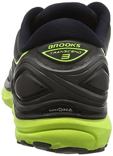 Uomo Brooks gelb Transcend schwarz Scarpe Running Nero 3 fRIOrqWR