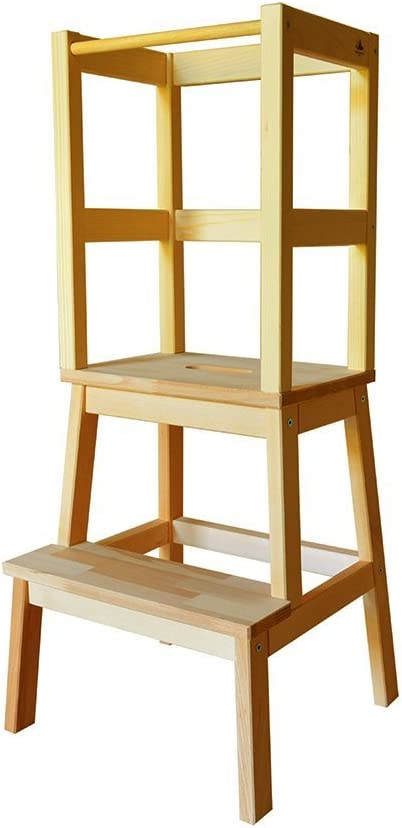 Torre aprendizaje Montessori: Amazon.es: Bebé