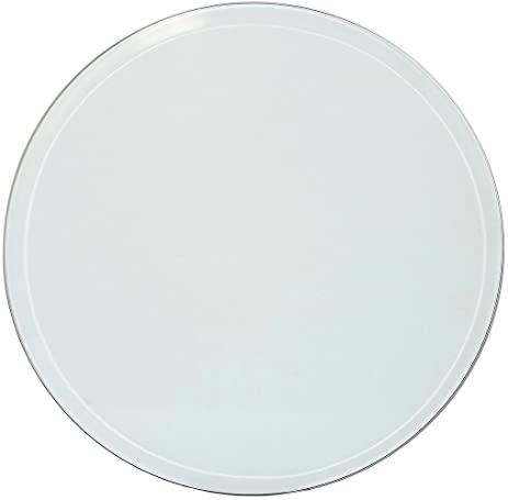 Perfect 24 Inch Beveled Glass Table Top   3/8u0026quot; Thick Tempered Polished Edge  