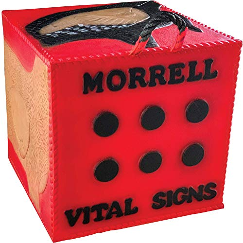 Morrell Vital Signs Combo 2 Field Point/Broadhead Combo Target - for Compounds, Crossbows, Traditional Bows and Airbows (Signs Vital Equipment)