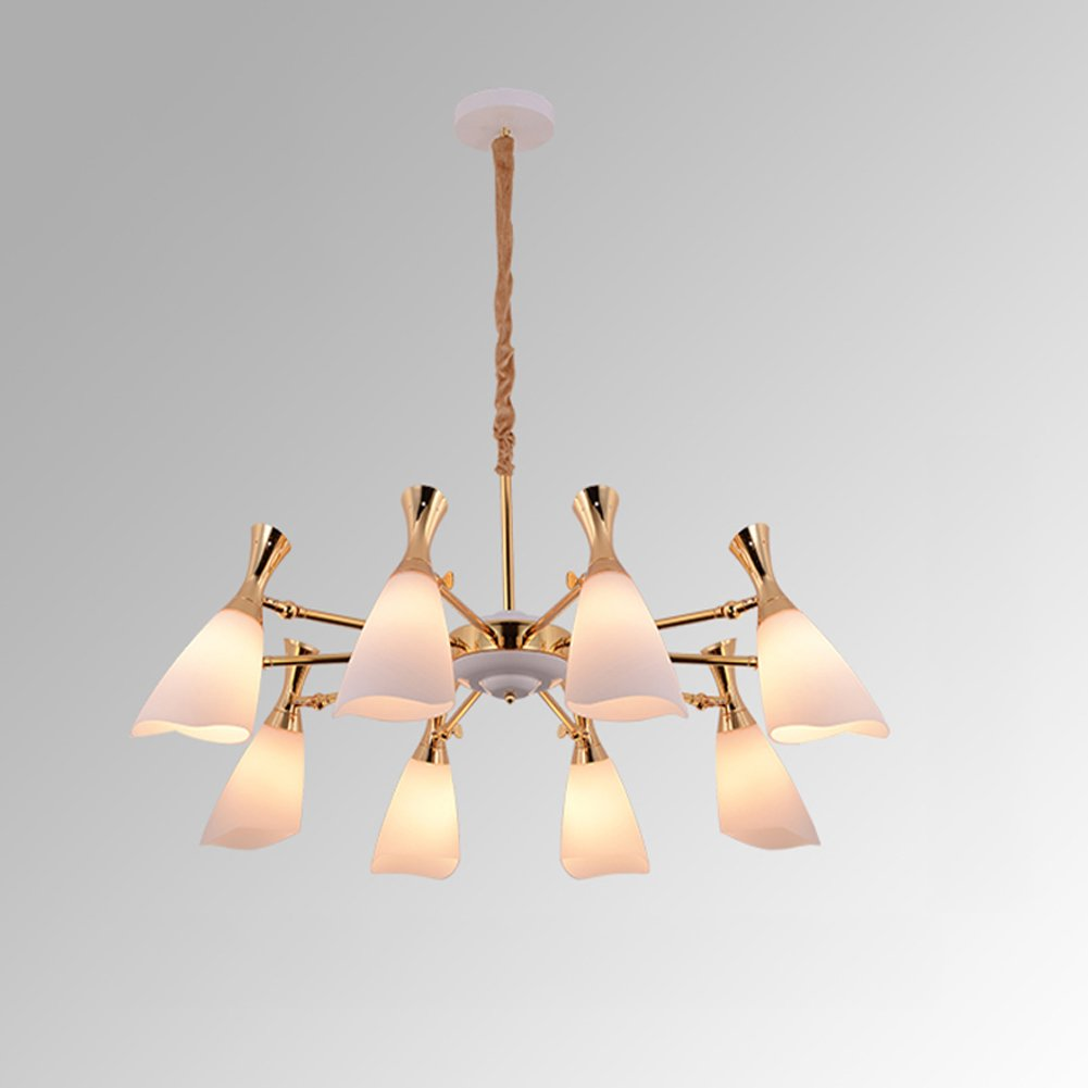 Yxgh pendant lights postmodern northern europe creativity glass chandelier simple personality living room restaurant clothing store lighting fixtures