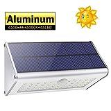CAIYUE Outdoor Motion Sensor Light, Super Bright IP65 Waterproof LED Solar Lights for Patio, Deck, Yard, Garden, Driveway (White Light)