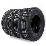 4pc Load Radial Trailer Tires ST205/75R15 8PR Load Range D
