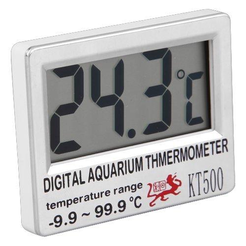 Digital Anzeige Fische Aquarium Thermometer -9.9 bis +99.9°C Neu
