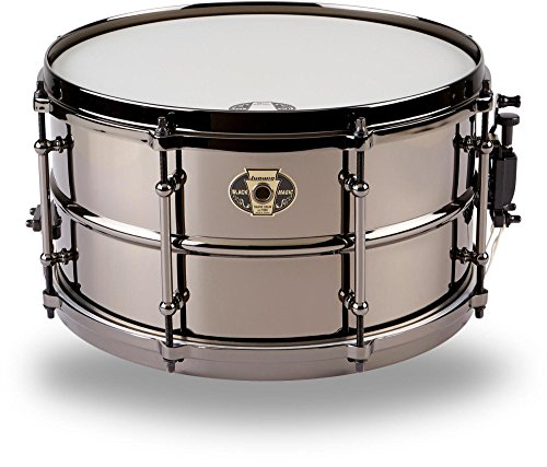 Ludwig Black Magic - Ludwig Black Magic Snare Black 7X13