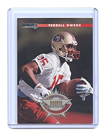 9f877be7b 1996 Donruss  237 Terrell Owens San Francisco 49ers Rookie Card - Mint  Condition Ships in