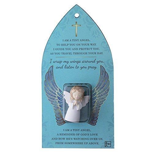 Grasslands Road Celebration of Faith, Mini Angel Figurine & Message Card 471371