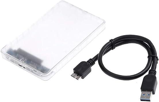 Caja Externa Transparente de 1Pc USB 3.0 Micro Hard Hard ...