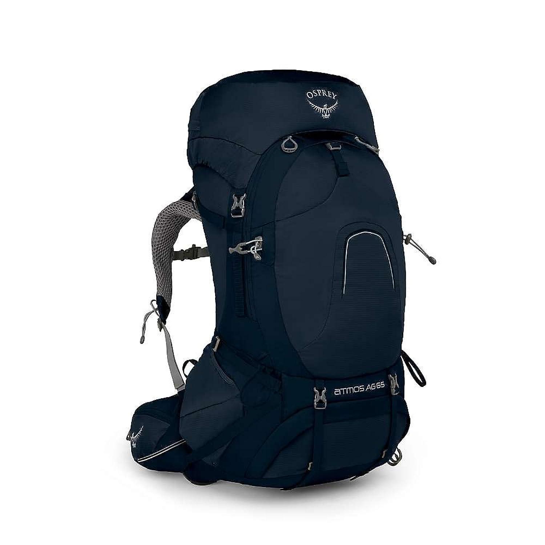 オスプレー バッグ バックパックリュックサック Osprey Men's Atmos AG 65 Pack Unity Blue [並行輸入品] B079BVTJ3R  Small