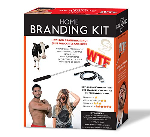 Maad Home Branding Kit Prank Gift Box - Perfect Gag, Anniversary Presents, or White Elephant