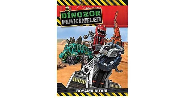 Dinozor Makineler Boyama Kitabi Kolektif 9786050961799 Amazon