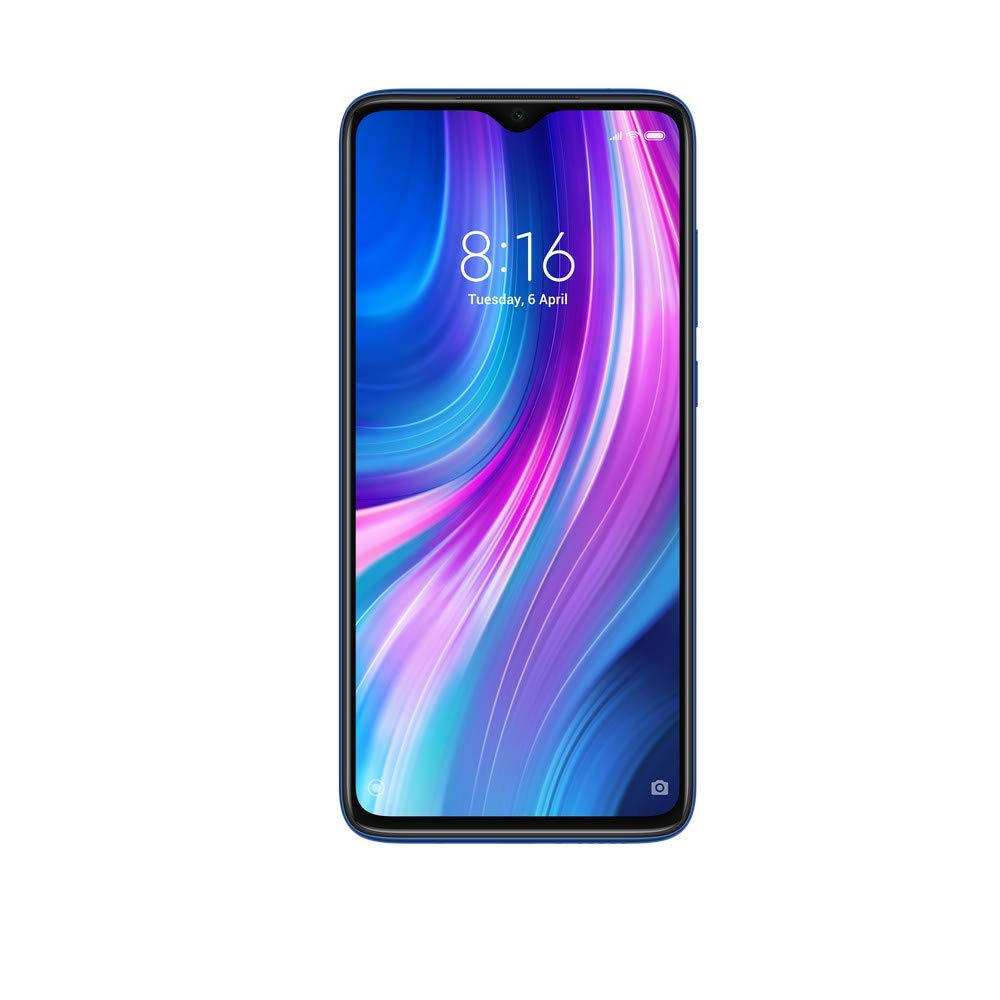 Redmi Note 8 Pro (Electric Blue, 6GB RAM, 64GB Storage with Helio G90T Processor)