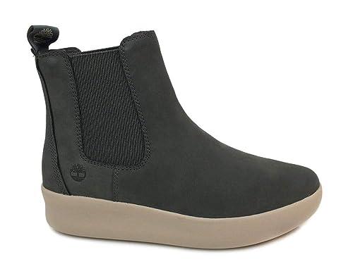 TIMBERLAND A1SLT Zapatos de Mujer gárgola Gris Botas de luz Beatles: Amazon.es: Zapatos y complementos