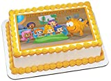 bubble guppies sheets - Bubble Guppies 1 Edible Cake Topper - 10