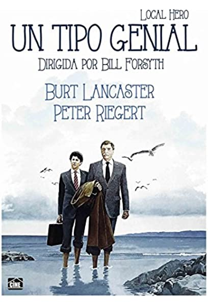 Un Tipo Genial [DVD]: Amazon.es: Burt Lancaster, Peter Riegert, Fulton Mackay, Bill Forsyth, Burt Lancaster, Peter Riegert: Cine y Series TV