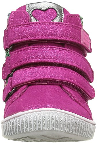 Agatha Ruiz de la Prada 161941, Botines para Niñas Rosa - Pink (Fresa Y Fucsia)