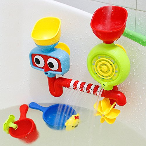 Price comparison product image New Lovely Portable Bath Tub Toy Water Sprinkler System Children Kids Toy Gift By KTOY