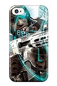 Hot Design Premium DAdjmAU10525ftIRe Tpu Case Cover Iphone 4/4s Protection Case(tom Clancy Future Soldier)