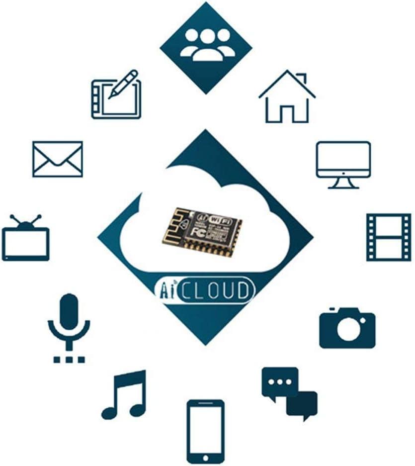 2pcs ESP8266 NodeMCU LUA CH340 ESP-12E WiFi Internet Development Board Flash Serial Wireless Module for Arduino IDE//Micropython New Version