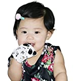 Silicone Teething Mittens for Babies - Teething Gloves for Infant - Baby Teething Mitten BPA Free - Teethers Toys for Boys|Girl-Soothing Pain relief Teether Toy 0-6 months