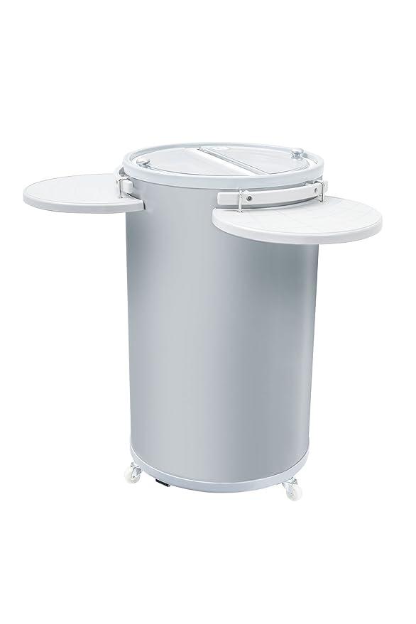 Party-Cooler | Mini-Getränkekühlschrank mit Tabletts als Ablage für ...