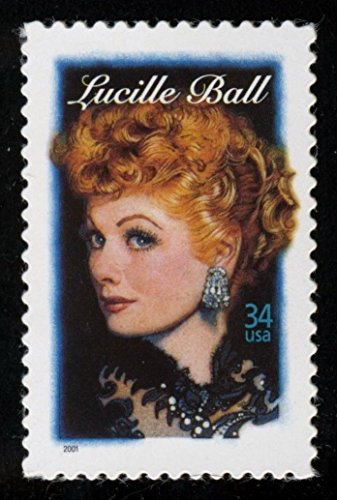 - Lucille Ball Single 34 Cent U.S. Postage Stamp Scott 3523