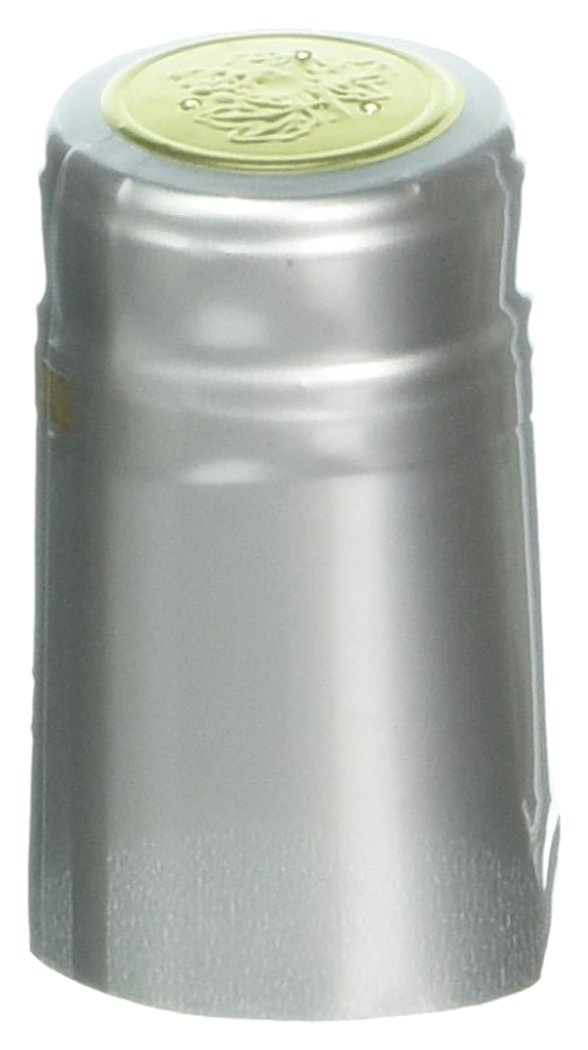 Home Brew Ohio PVC shrink Capsules-500Count, Silver