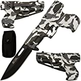 Obsidian Easy Open Folding Bullet Knife 8 Inches