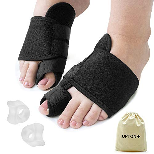 Bunion Corrector and Straightener Relief Kit - Pain Relief for Hallux Valgus, Hammer Toe, Big Toe Joint - Orthopedic Toe Protector Separators Spacers Splint Brace with Gel Cushions
