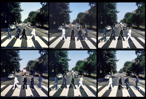 - The Beatles Abbey Road Crossing 13 X 19