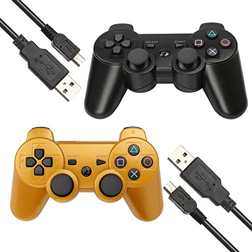 ps3 wireless controller gold - 5