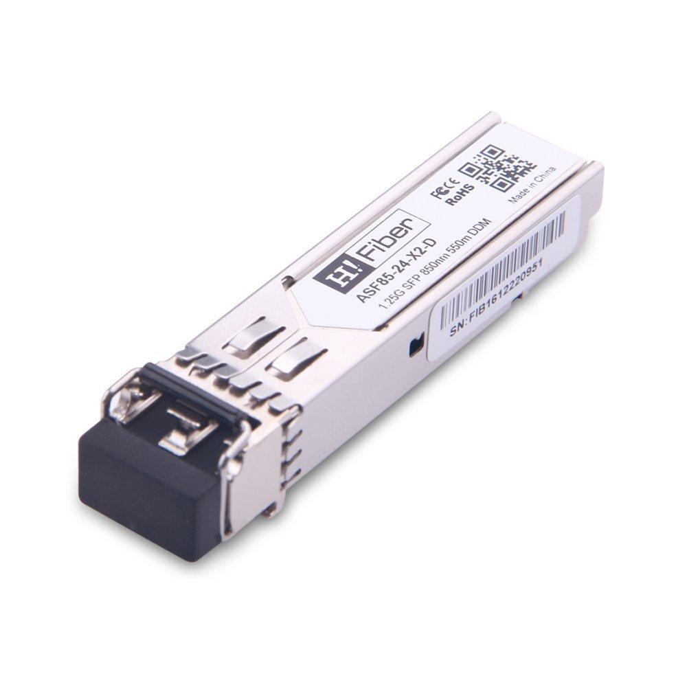 Ubiquiti H!Fiber.com 10GBase-SR SFP+ M/ódulo 300m TP-Link etc Netgear D-Link 10 GB//s Multimode SFP+ Transceiver Compatible con Cisco