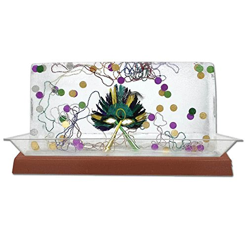"""TableTop king 010LCS55LED-CP 56"""" x 24"""" x 4"""" LED Lighted Ice Display - Copper Base"""