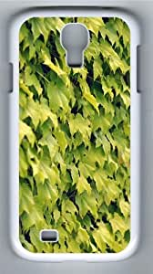 Ivy wall summer Polycarbonate Hard Case Cover for Samsung Galaxy S4/Samsung Galaxy I9500 White