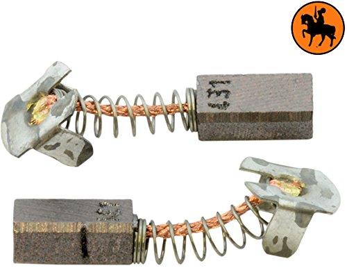 2.0x2.4x4.3 5x6x11,5mm Balais de Charbon pour MAKITA BFL120F viseusse