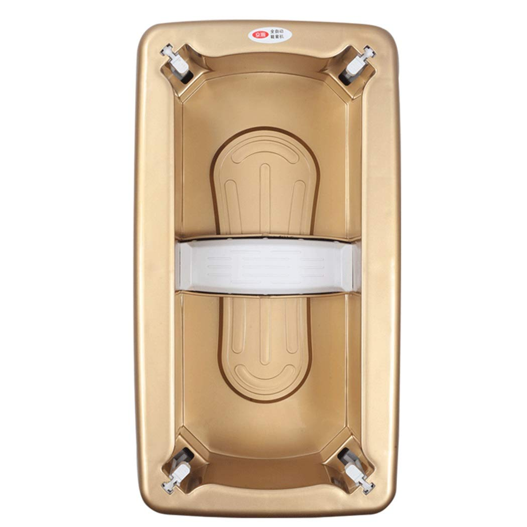 Yongyong Automatic Shoe Cover Machine Household Dust-Free Laboratory Hospital ABS Shoe Cover Machine to Send 100 Shoe Covers 402112CM (Color : Gold, Size : 402112cm)