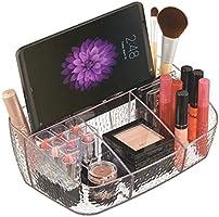 mDesign Organizador de cosméticos para Maquillaje - Organizador de ...