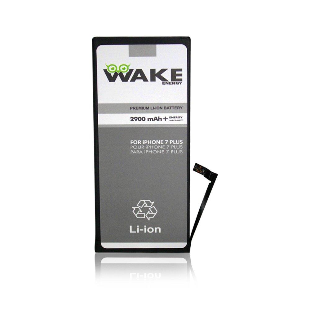 WAKE BATTERY for Iphone 7 Plus Li-ion 2900 mAh (no compatible for iphone 6S Plus/6 Plus/ 7 or other iPhone model) WAKE BRAND