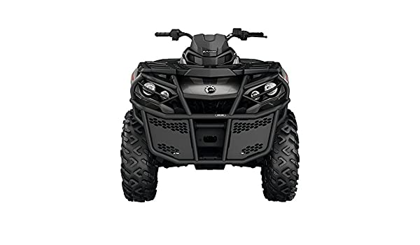 Amazon.com: CAN-AM OUTLANDER G2 AND G2L BLACK RANCHER FRONT BUMPER ...