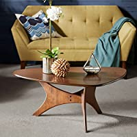 Triangle Wood Coffee table Brown/Blaze