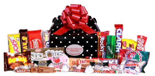 Retro Chocolate Fantasy Gift Box -