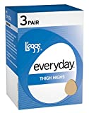 L'eggs Everyday Thigh High ST 3 Pair