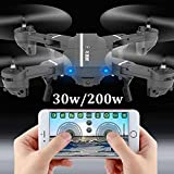 Jiayuane Wifi Foldable Drone with 720P HD Camrea Live Video,RC Quadcopter Toys for kids,Altitude Hold Helicopter for Beginners