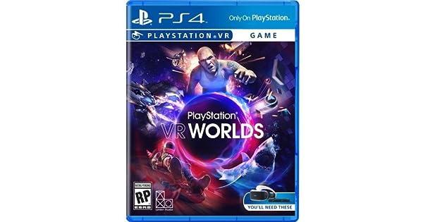 Sony VR Worlds PS4 VR Básico PlayStation 4 vídeo - Juego (PlayStation 4, Acción, M (Maduro)): Amazon.es: Videojuegos