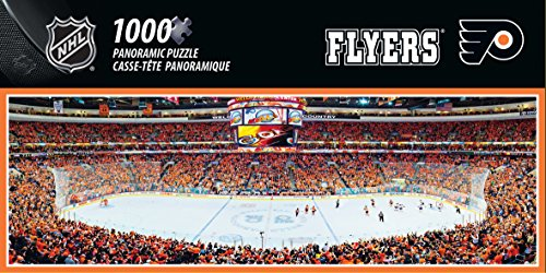 (MasterPieces NHL Philadelphia Flyers 1000 Piece Stadium Panoramic Jigsaw Puzzle)