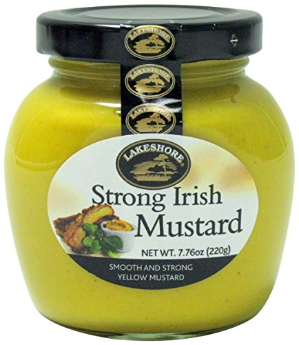 (Lakeshore Strong Irish Mustard, 7.76 Ounce )