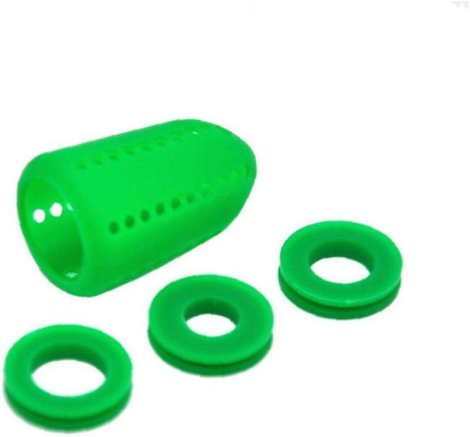 Lankater 4pcs / Set De Silicona Fumar Hookah Shisha Silenciador Silenciador Shisha Tubo Difusor De Agua Accesorios Color Azar