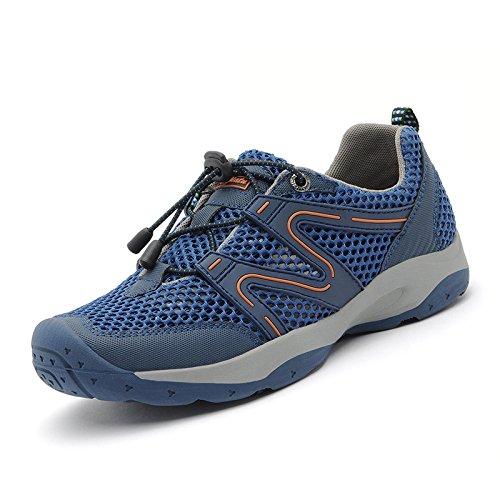 d89ee4753ba4b Libre Deportes Correr Zapatos Al Verano Trekking Para Zapatillas Superior  Transpirable Blue Hombres Los De Malla ...